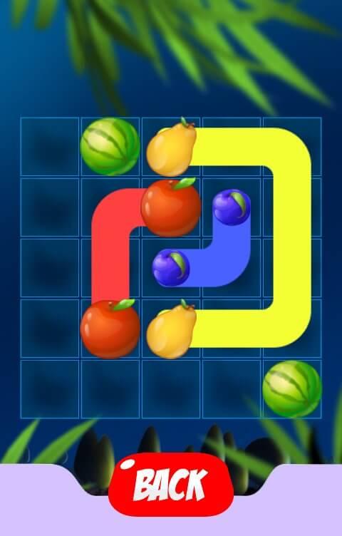 Свяжи Фрукты Линиями - игра для Android