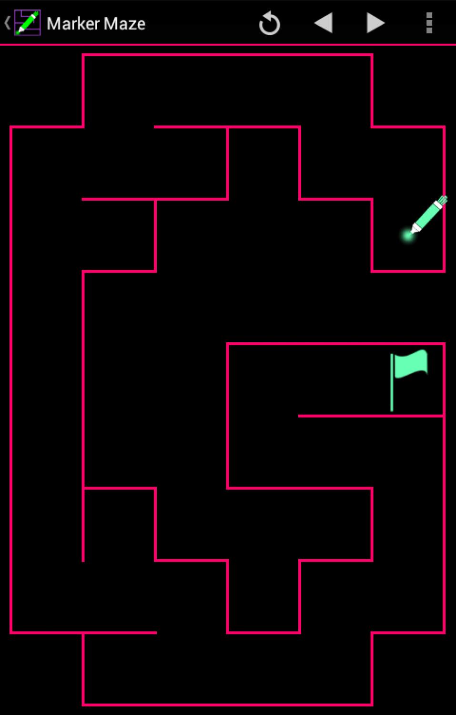 Marker Maze