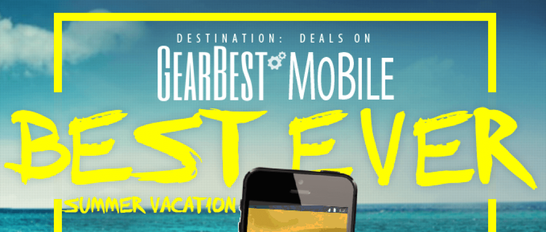 Сенсационная распродажа от GearBest: скидки, подарки и призы