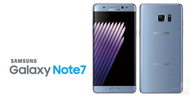 Предположительно Samsung Galaxy Note 7