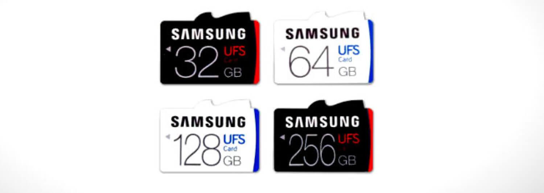 Карты памяти UFS от Samsung
