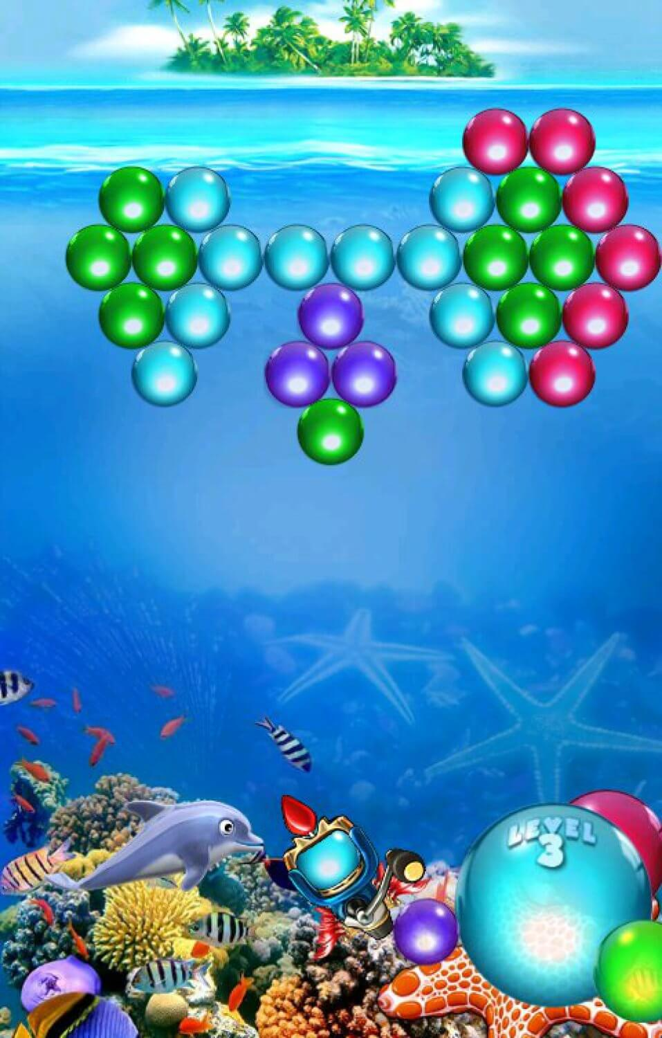 Dolphin Bubble Shooter