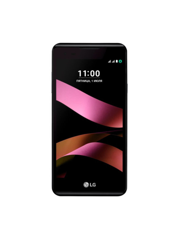 LG X style_black_on shot_01_Rus