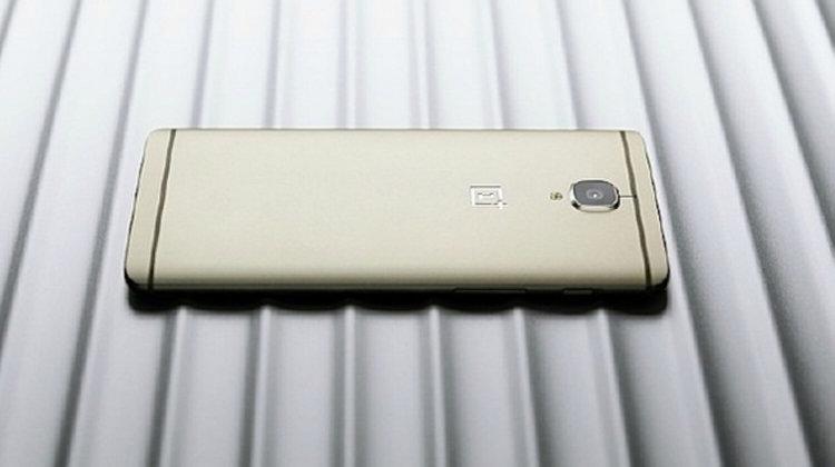 OnePlus 3 Gold