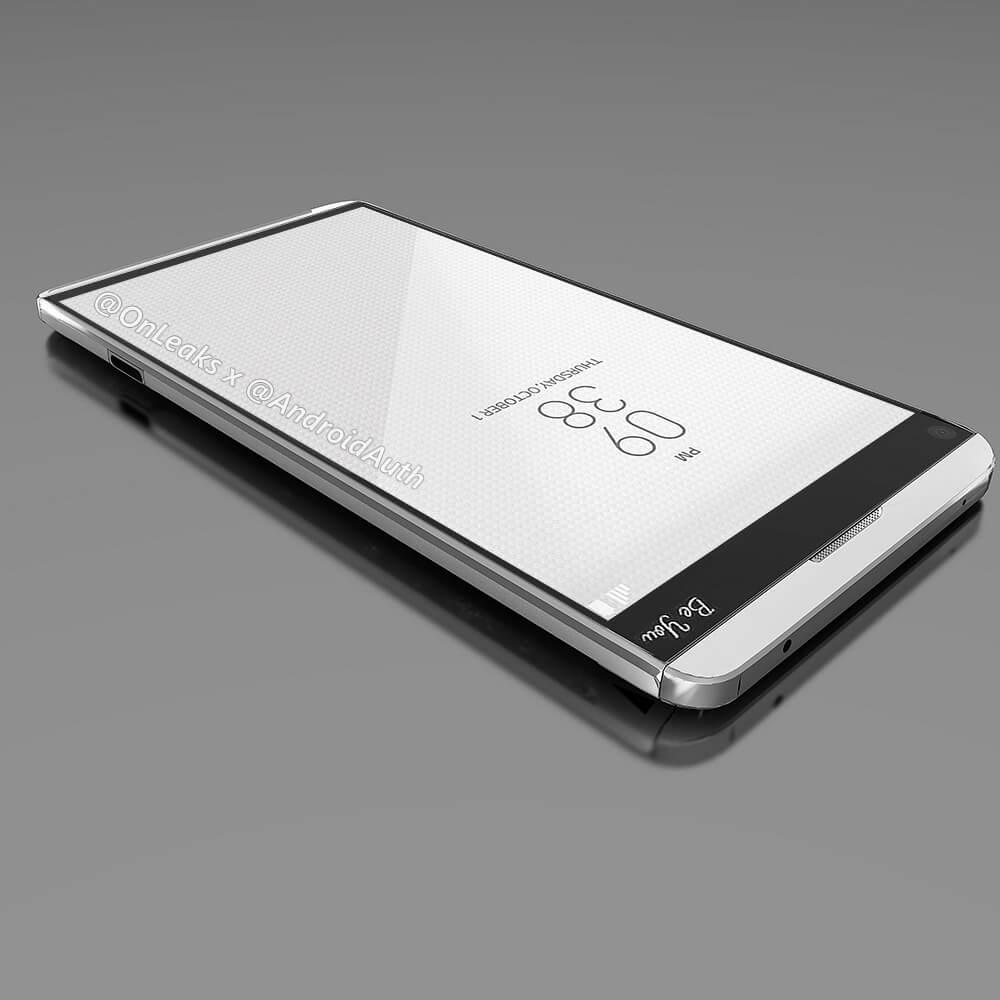 Рендеры предположительно LG V20