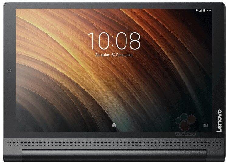 Рендер предположительно Lenovo Yoga Tab 3 Plus 10