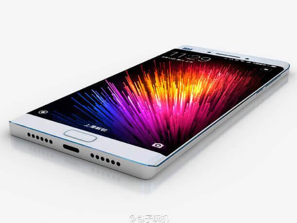 Якобы Xiaomi Mi Note 2