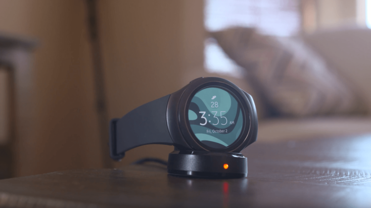Gear S2 Charging