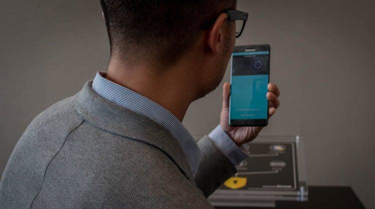 Чем удивит сканер радужной оболочки в Galaxy Note 7