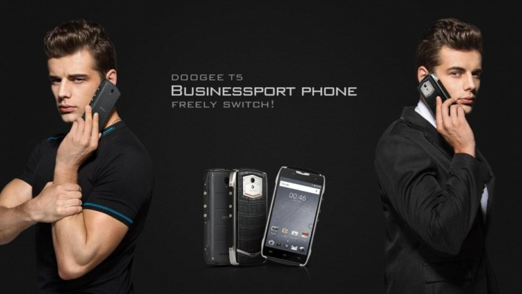 Doogee T5 - стильный, защищенный, бесплатный*