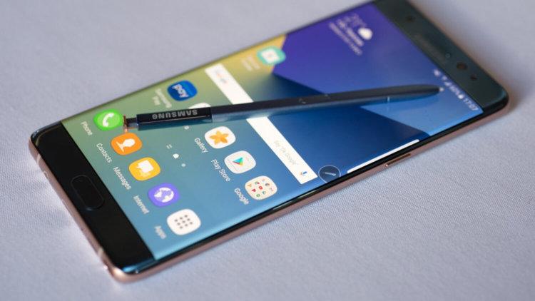 Скрытые особенности Samsung Galaxy Note 7