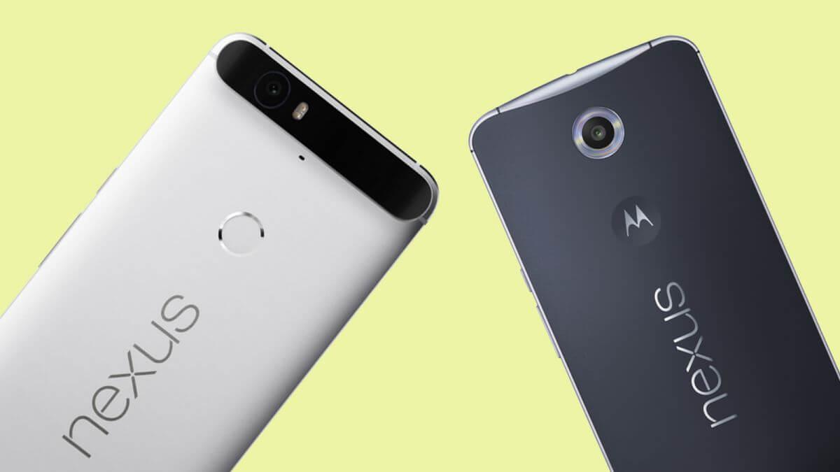 Nexus 6P и Nexus 6