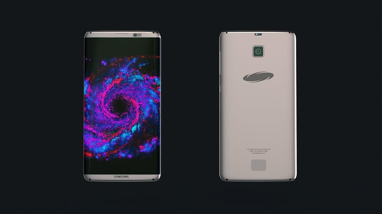 Концепт Samsung Galaxy S8 Edge