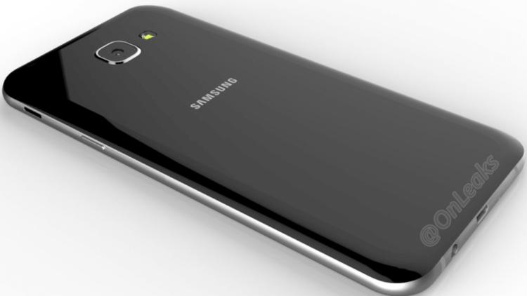 Galaxy A8 Back