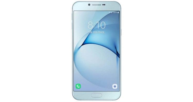 Стало известно о выходе нового фаблета Galaxy A8 от компании Samsung