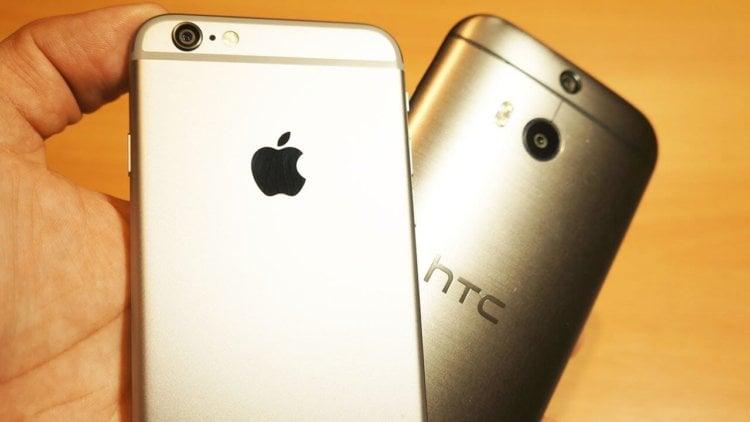 iPhone 6s vs HTC One M8