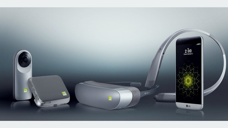 LG G5 и аксессуары Friends к нему