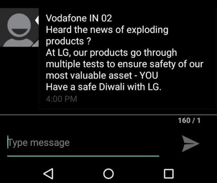LG Diwali Message