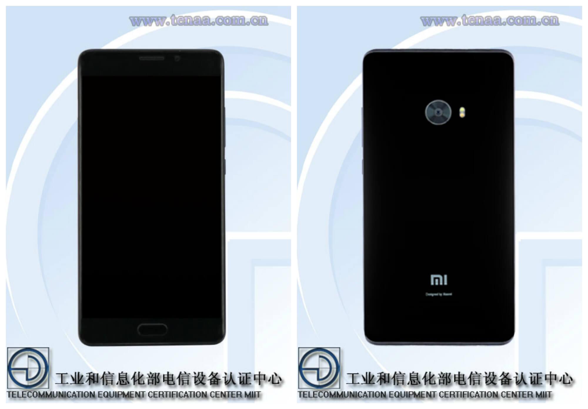 Возможно Xiaomi Mi Note 2 с плоским экраном