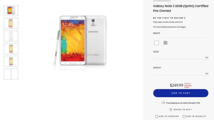 Galaxy Note 3 BF