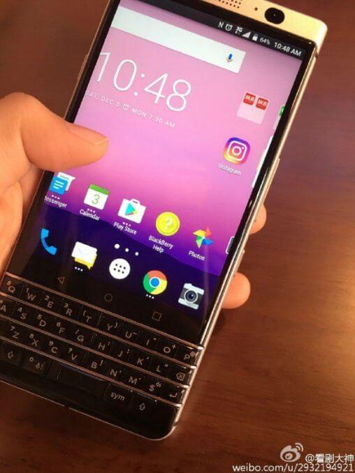Якобы BlackBerry Mercury