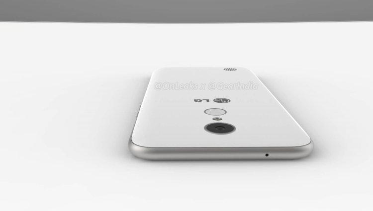 Якобы рендер LG V5