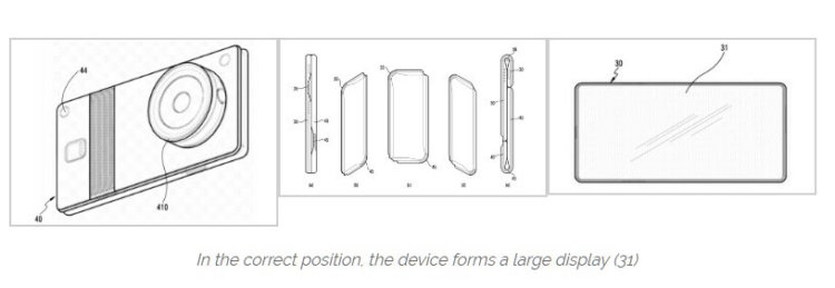 Гибкий девайс - патентная заявка Samsung