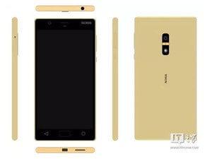 Так ли будут выглядеть смартфоны Nokia 2017 года?