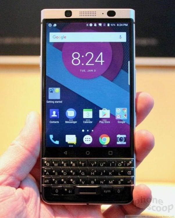 CES_2017 - новый телефон BlackBerry