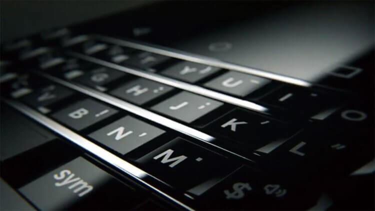 Клавиатура BlackBerry