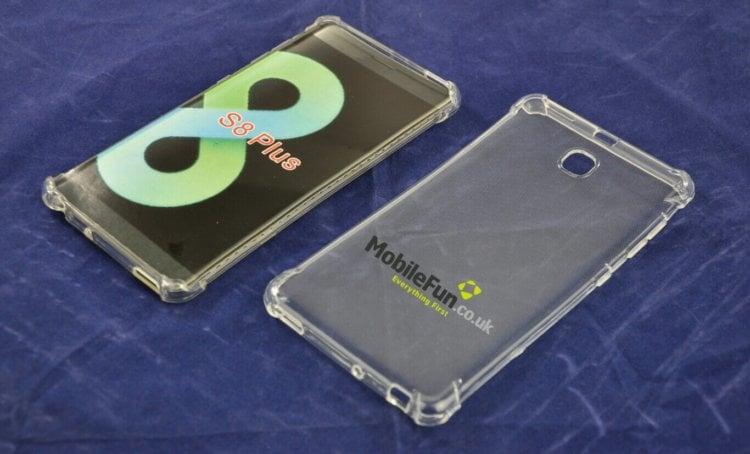Предполагаемая первая фотография чехла для Galaxy S8