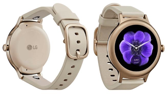 Предположительно LG Watch Style цвета «розовое золото»