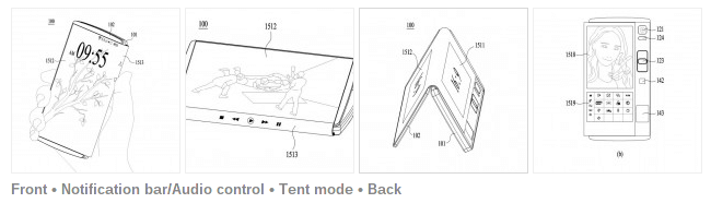 LG патентует гибкий гибрид смартфона и планшета