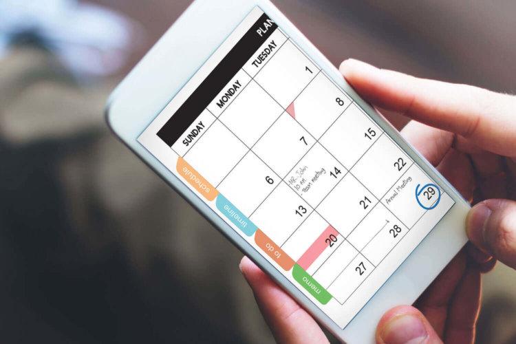 Картинки по запросу календарь  в телефоне