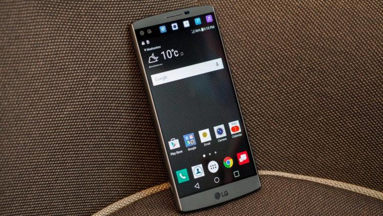Развитие линейки смартфонов V компании LG может порадовать пользователей