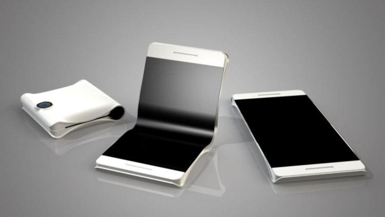 Концепт гибкого смартфона