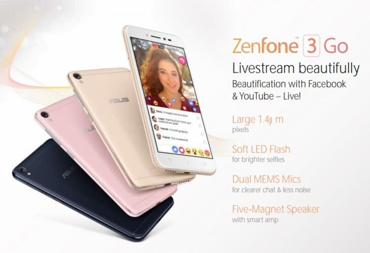 Предположительно Zenfone 3 Go