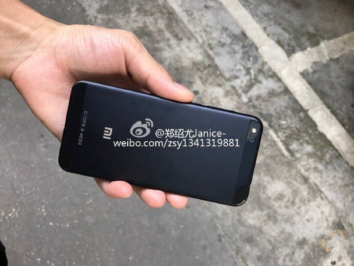 Предположительно фото Xiaomi Mi 5c