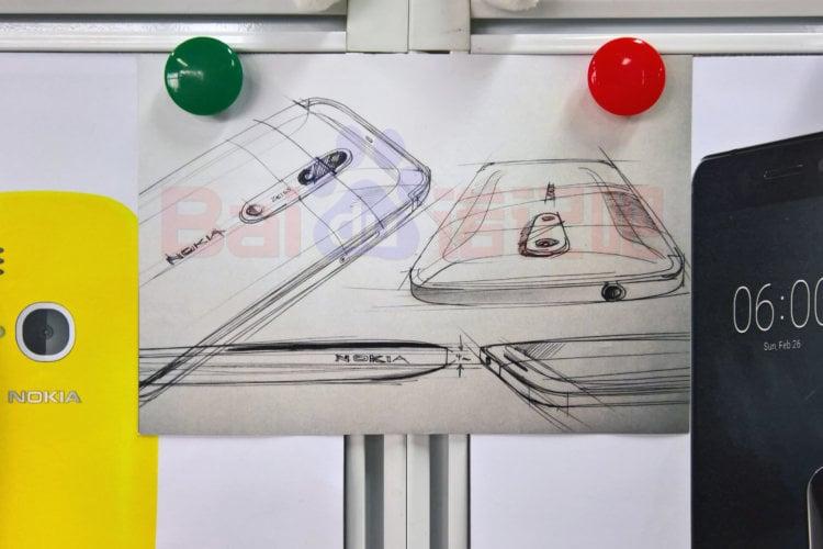 Эскиз флагмана Nokia позволяет «намекнул» на двойную камеру Zeiss