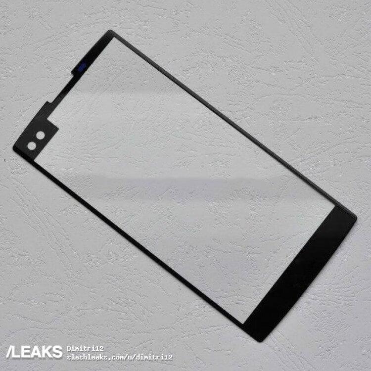 Предположительно передняя панель LG V30
