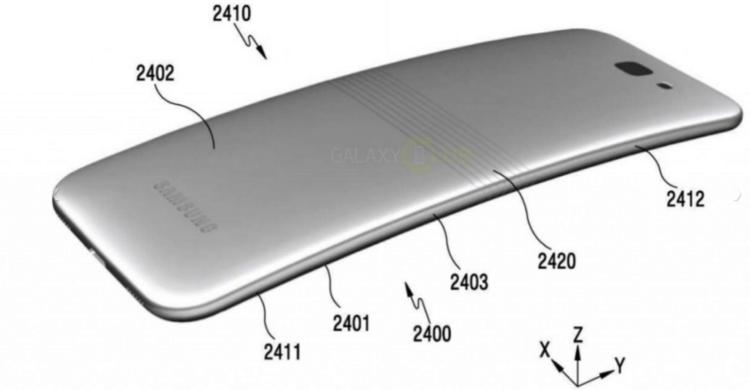 Каким станет гибкий смартфон Galaxy X?