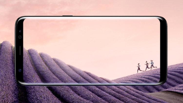 Дисплей Galaxy S8