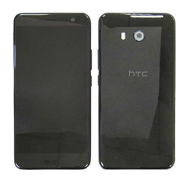 Передняя и задняя панель HTC U (Ocean) могли показаться в Сети
