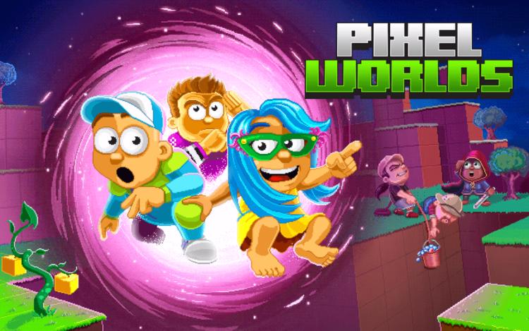 Pixel Worlds – действительно интересная игровая новинка