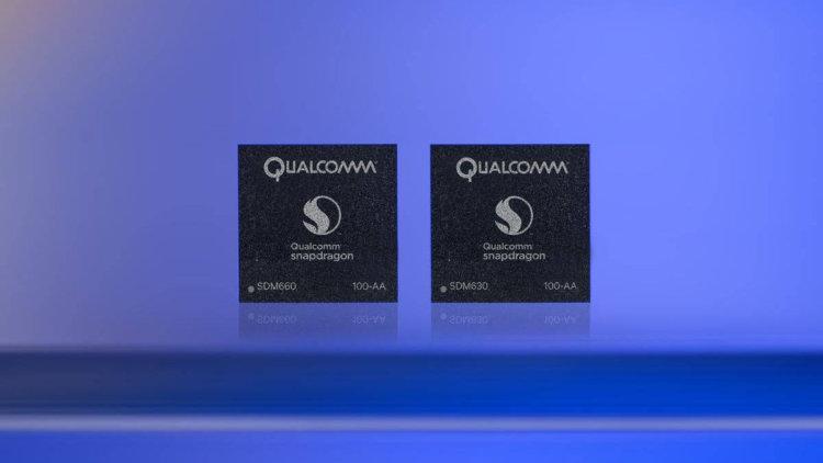 Qualcomm представила чипсеты Snapdragon 660 и 630