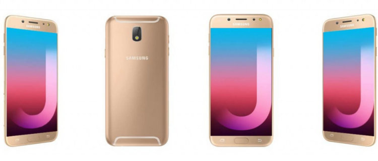 Золотистый Galaxy J7 Pro