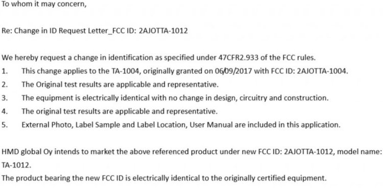 Nokia - TA-1012 вместо TA-1004?