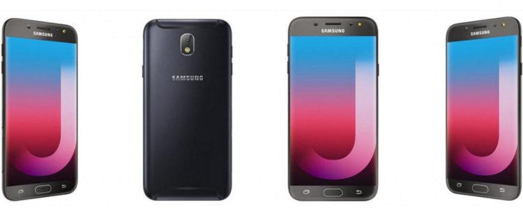 Черный Galaxy J7 Pro