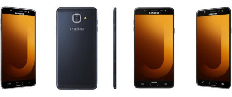Черный Galaxy J7 Max