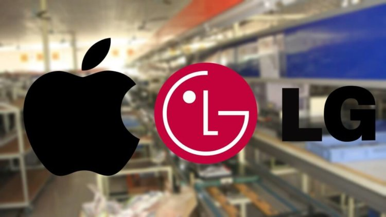 Apple и LG